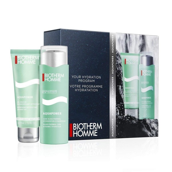 Biotherm aquapower crema piel normal a mixta 75ml + gel de baño 75ml
