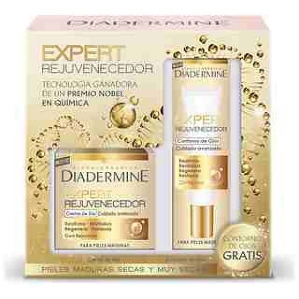 Diadermine expert rejuvenecedor crema dia  y contorno de  ojos