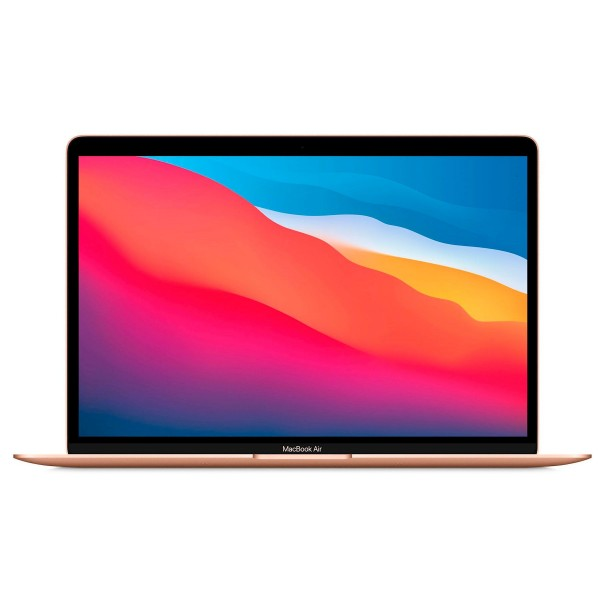 "Apple macbook air gold/m1 8 núcleos/16+256 gb/13.3"" retina ips led"